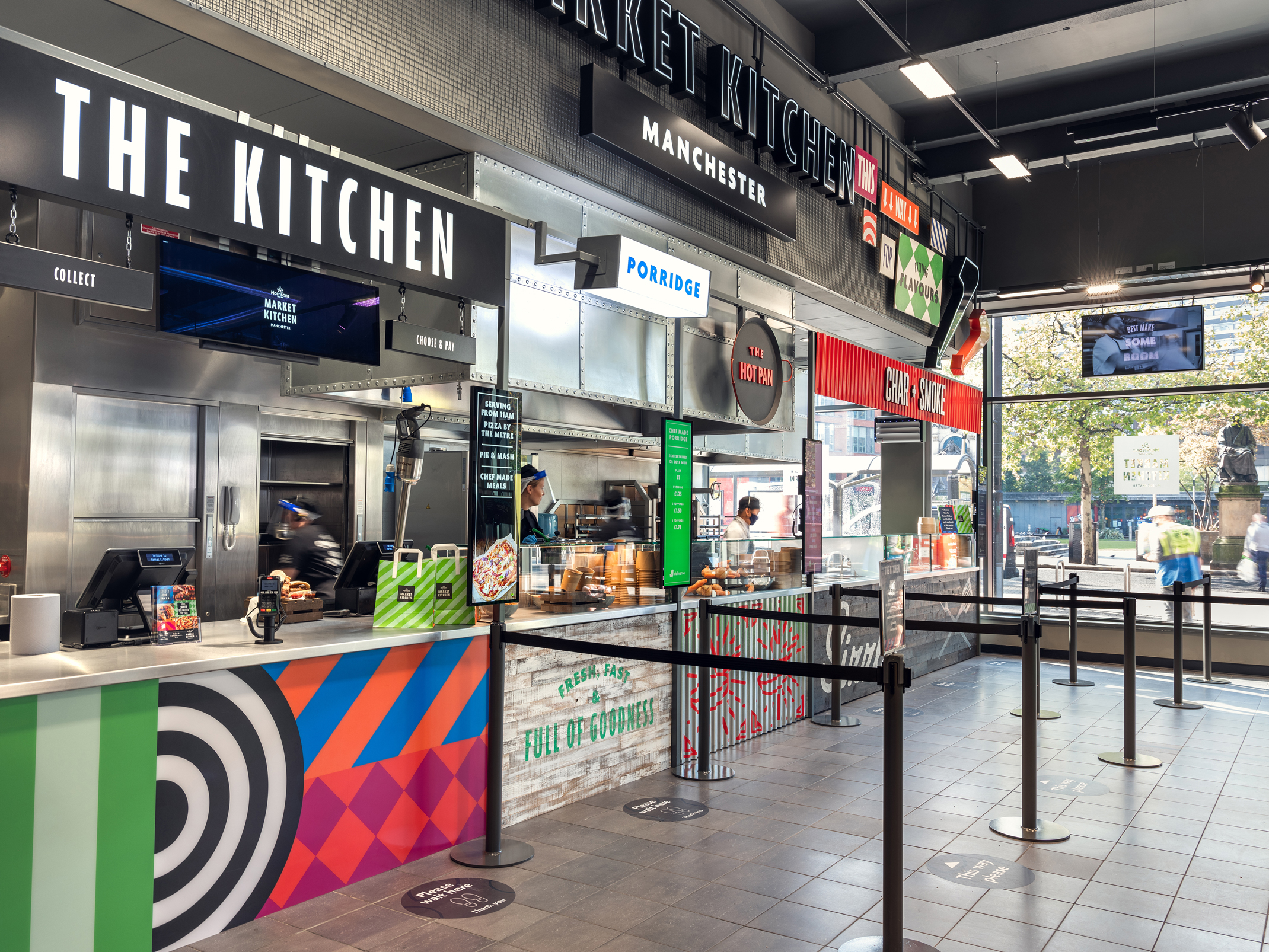 Morrisons Manchester Piccadilly Market Kitchen Charlie Smith Design