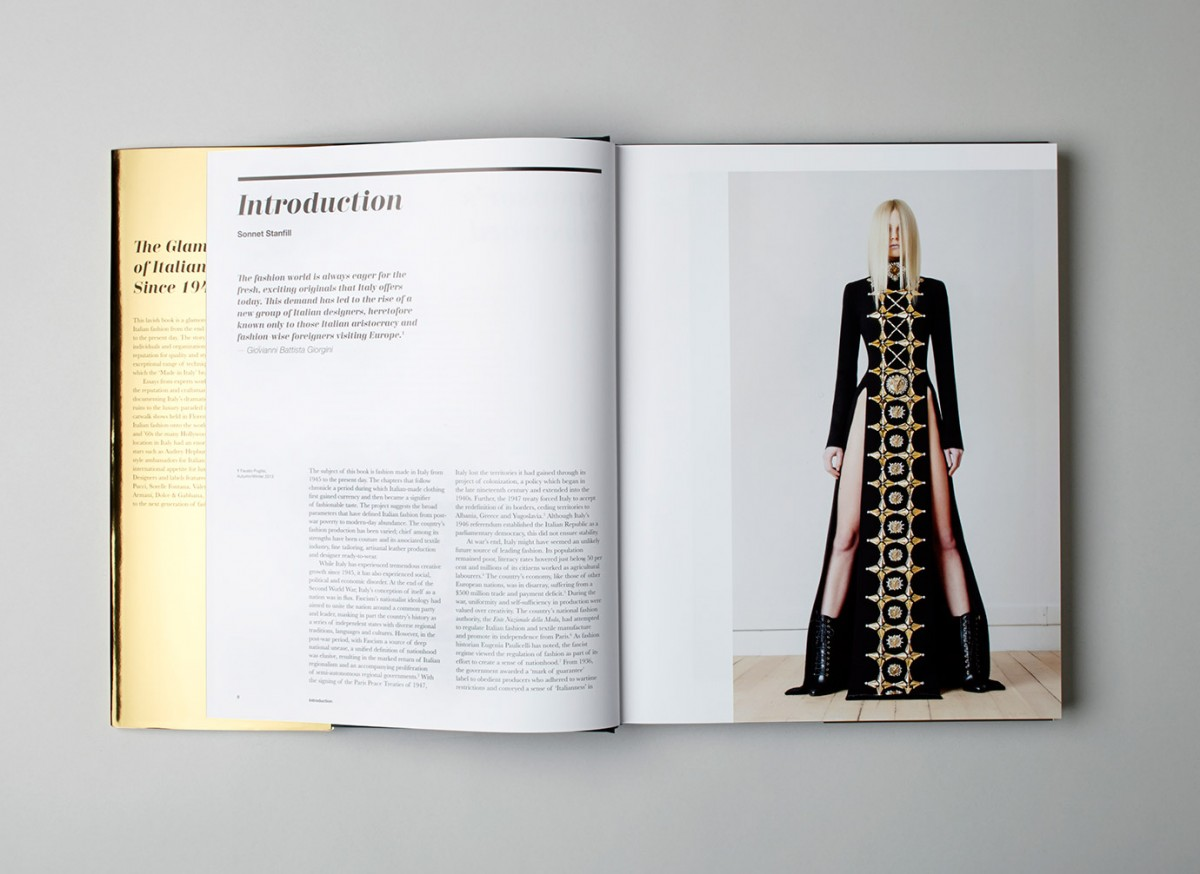 Charlie Smith Design Book Italian Fashion
