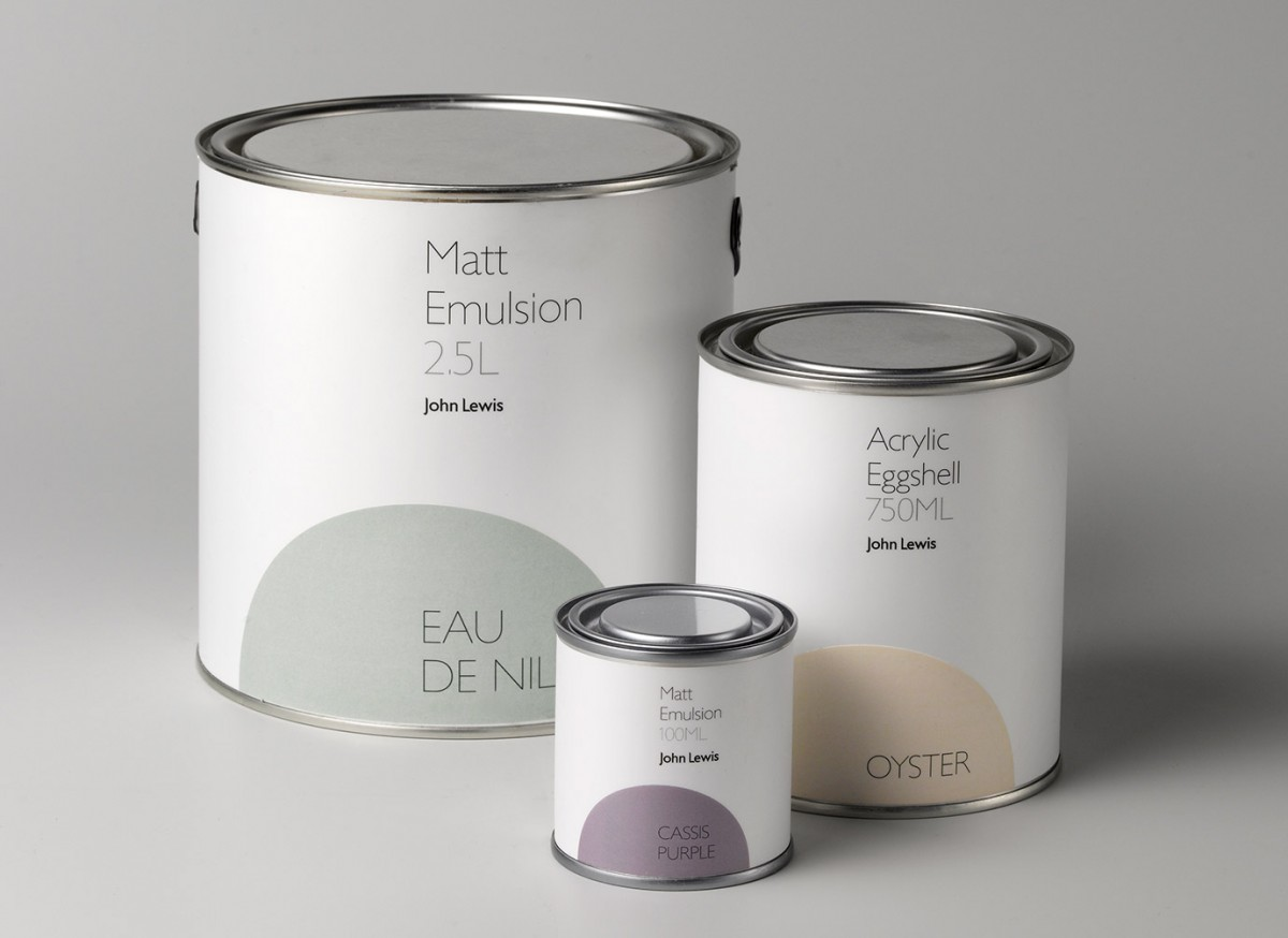 Charlie smith design paint for John lewis design service